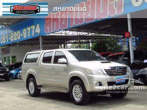 2012 Toyota Hilux Vigo 3.0 CHAMP DOUBLE CAB (ปี 11-15) G Pickup AT