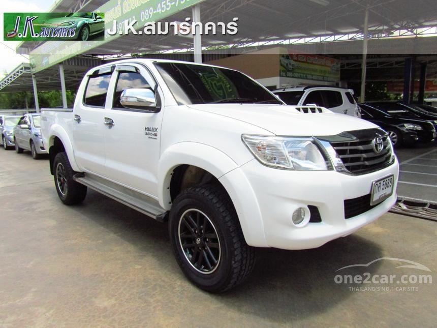 2011 Toyota Hilux Vigo G Pickup