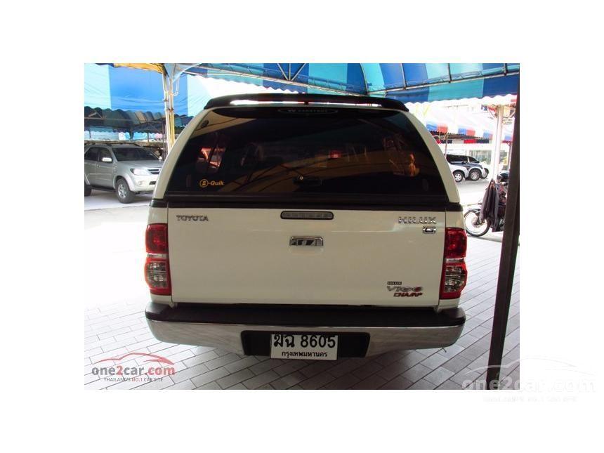 2012 Toyota Hilux Vigo G Pickup