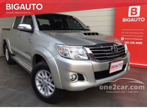 2014 Toyota Hilux Vigo 3.0 CHAMP DOUBLE CAB (ปี 11-15) G Prerunner VN Turbo Pickup AT