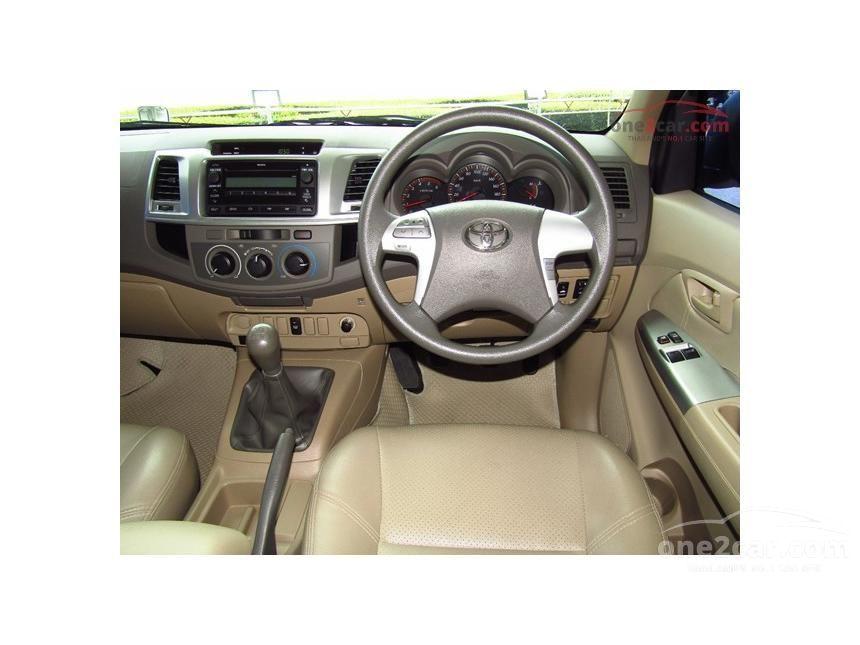 2012 Toyota Hilux Vigo G Prerunner VN Turbo Pickup