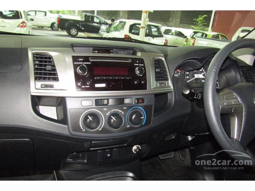 2015 Toyota Hilux Vigo G Prerunner VN Turbo Pickup