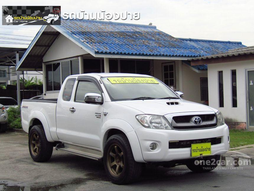 2011 Toyota Hilux Vigo G Prerunner VN Turbo Pickup