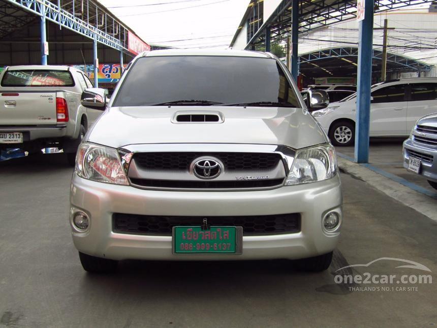 2011 Toyota Hilux Vigo G VN Turbo Pickup