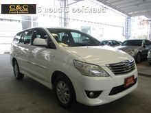 2012 Toyota Innova (ปี 11-15) G 2.0 AT Wagon