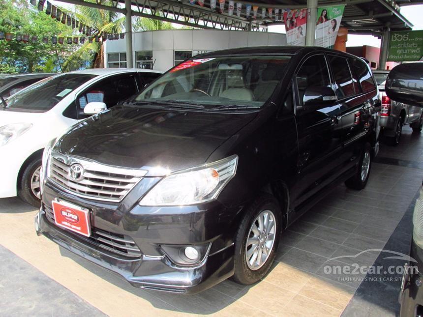 2013 Toyota Innova V Wagon