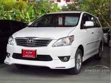 2013 Toyota Innova (ปี 11-15) V 2.0 AT Wagon