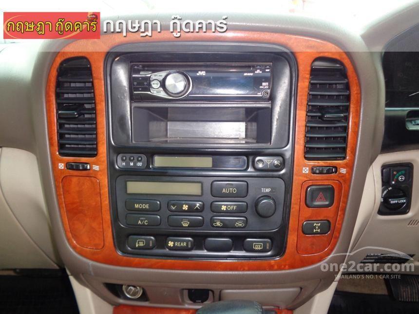 2000 Toyota Land Cruiser Cygnus Wagon