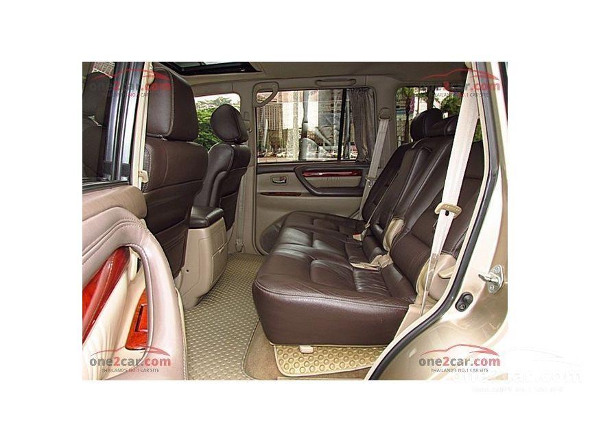 1999 Toyota Land Cruiser Cygnus Wagon
