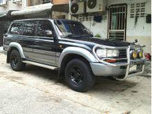 1997 Toyota Land Cruiser 80 VX Limited 4.5 AT Wagon