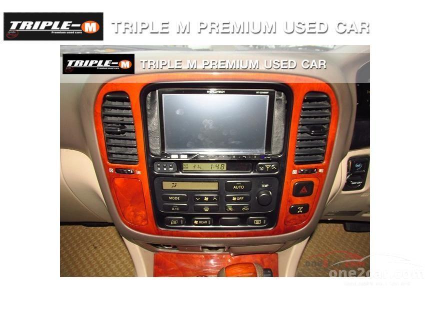 1999 Toyota Land Cruiser VX Limited Wagon