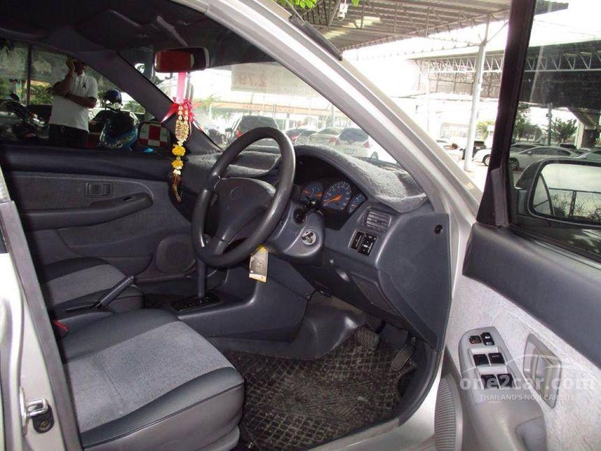 2002 Toyota SOLUNA E Sedan