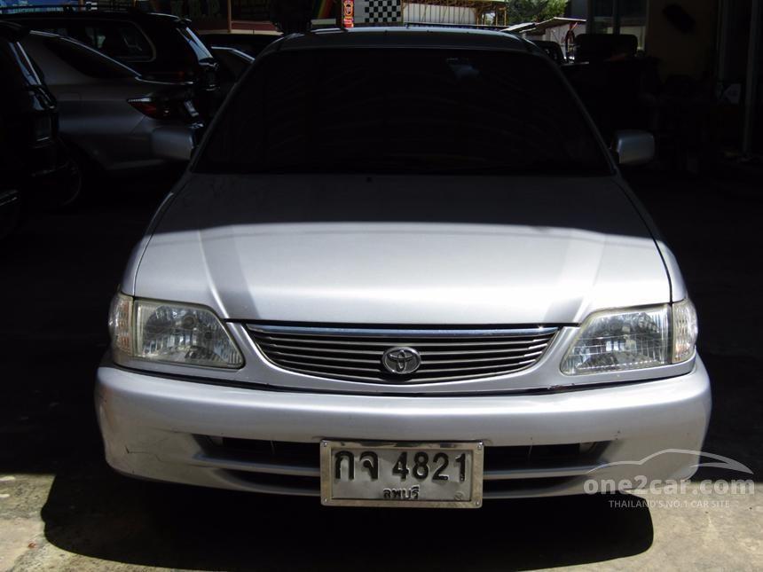 2001 Toyota Soluna GLi Sedan
