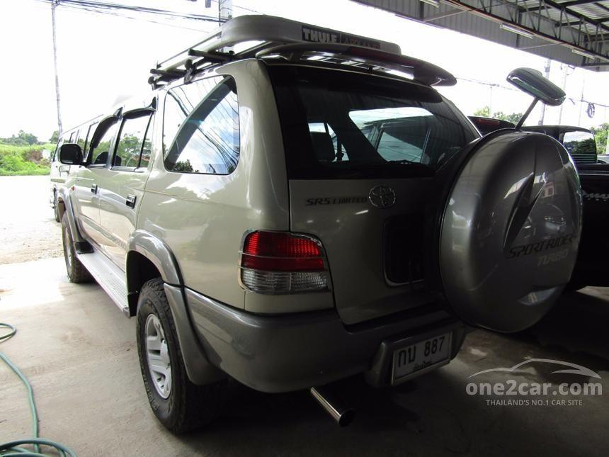 2001 Toyota Sport Rider SR5 Limited SUV
