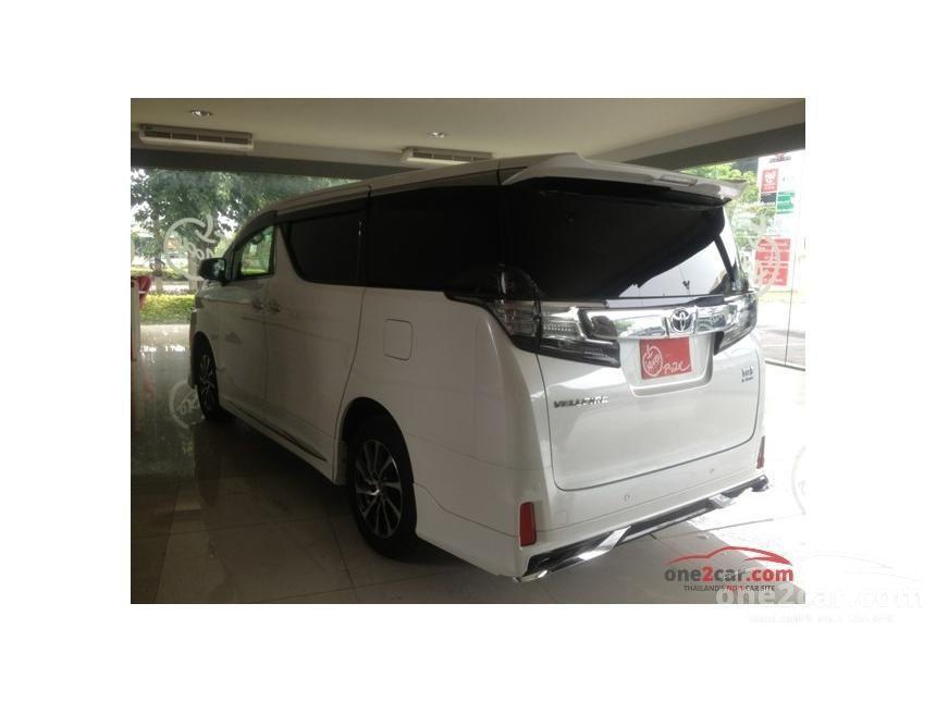 2015 Toyota Vellfire Hybrid E-Four Van