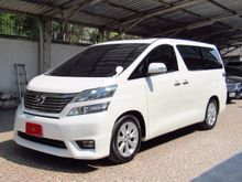 2011 Toyota VELLFIRE (ปี 08-14) V 2.4 AT Van
