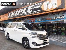 2015 Toyota Vellfire (ปี 15-18) V 2.5 AT Van