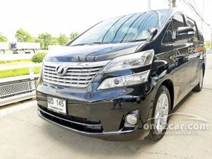 2011 Toyota Vellfire 2.4 (ปี 08-14) V Wagon AT