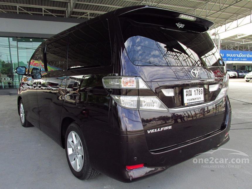 2008 Toyota Vellfire V Wagon