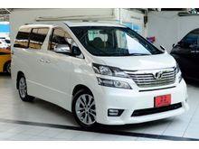 2012 Toyota Vellfire (ปี 08-14) V 2.4 AT Wagon