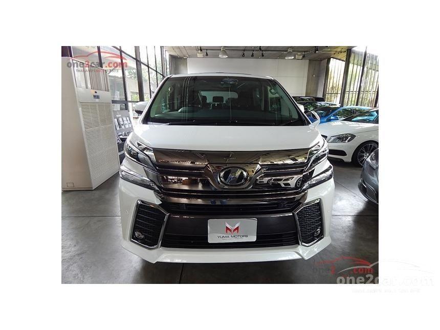 2015 Toyota VELLFIRE Z G EDITION Van