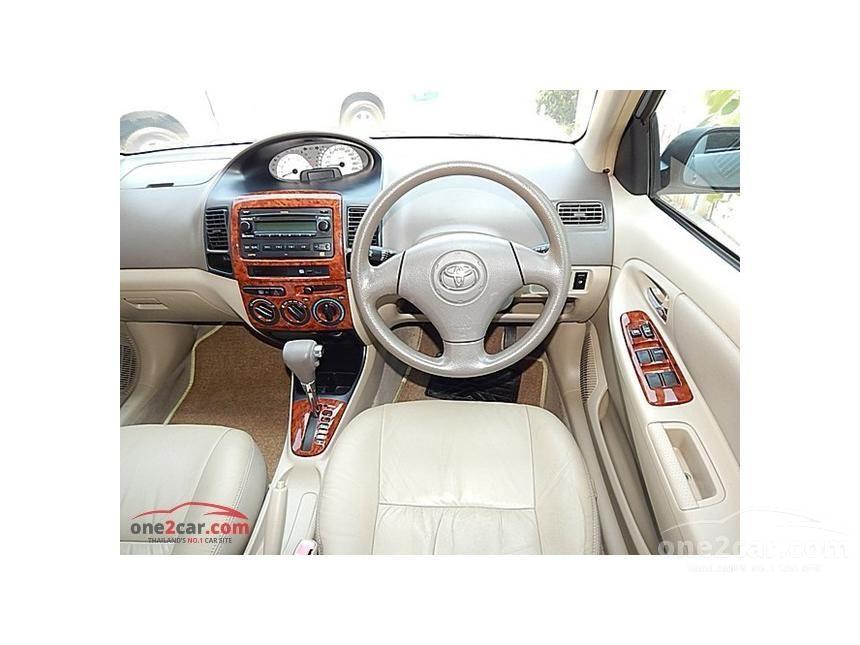 2005 Toyota Vios E IVORY Sedan