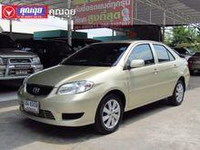 2004 Toyota Vios (ปี 02-07) E IVORY 1.5 AT Sedan