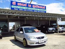 2003 Toyota Vios (ปี 02-07) E 1.5 MT Sedan