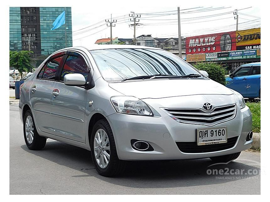 2011 Toyota Vios E Sedan
