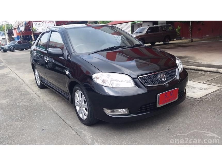 2005 Toyota Vios E Sedan
