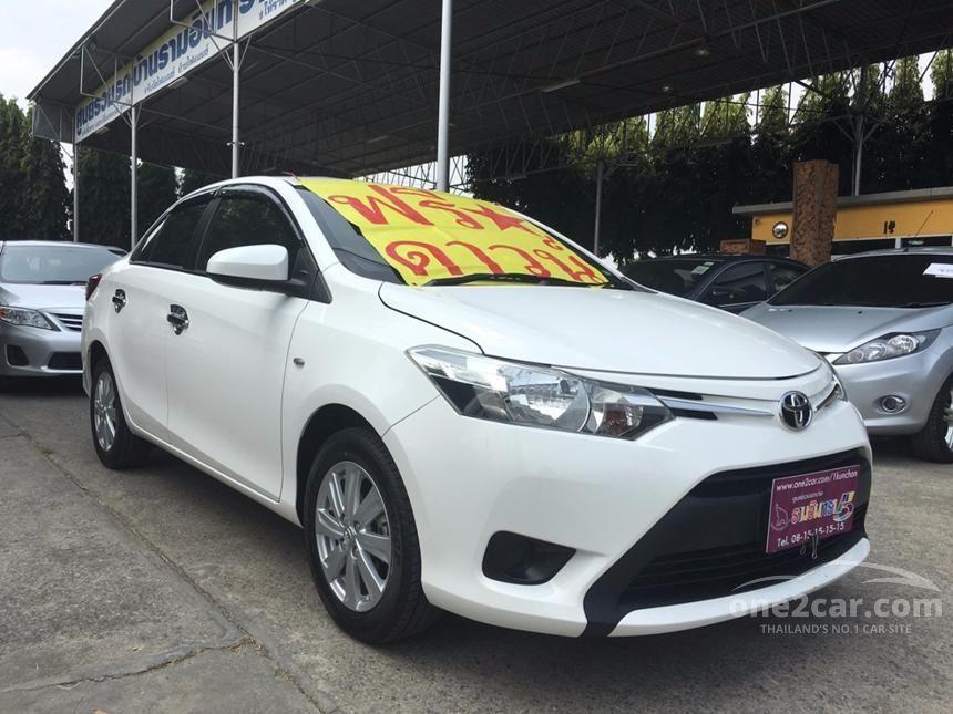 2015 Toyota Vios E Sedan