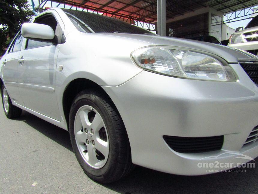 2003 Toyota Vios E Sedan