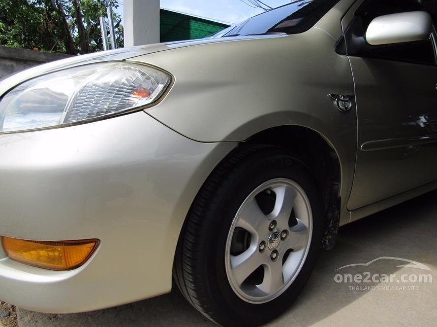 2005 Toyota Vios E Sedan
