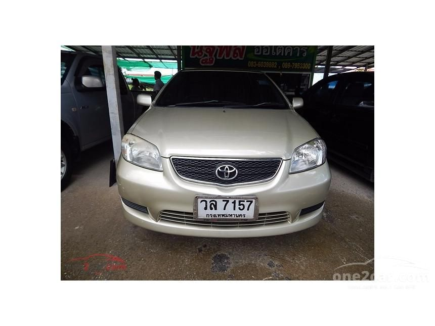 2003 Toyota Vios E Sedan
