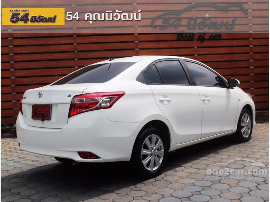 2013 Toyota VIOS E Sedan