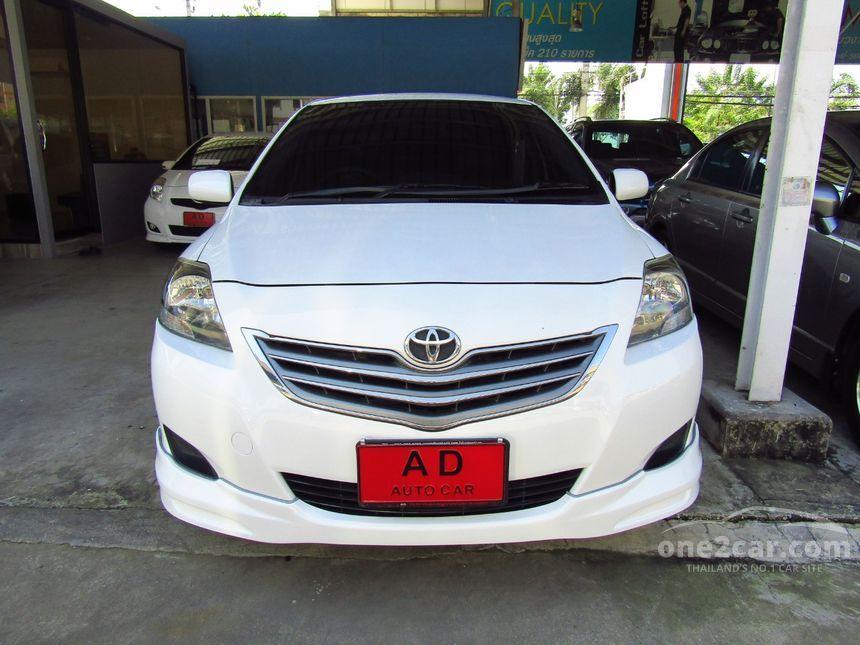 2012 Toyota Vios E Sedan