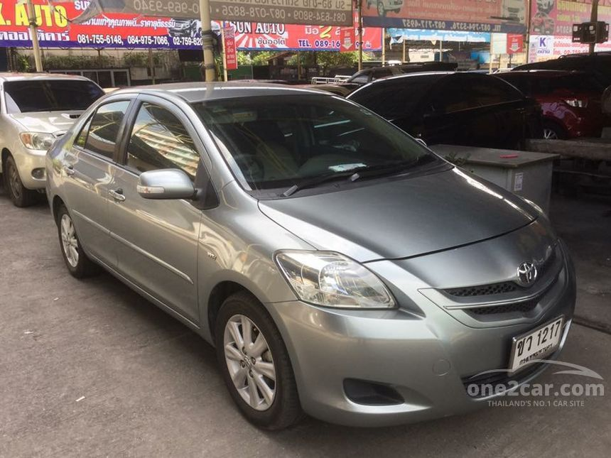 2007 Toyota Vios E Sedan