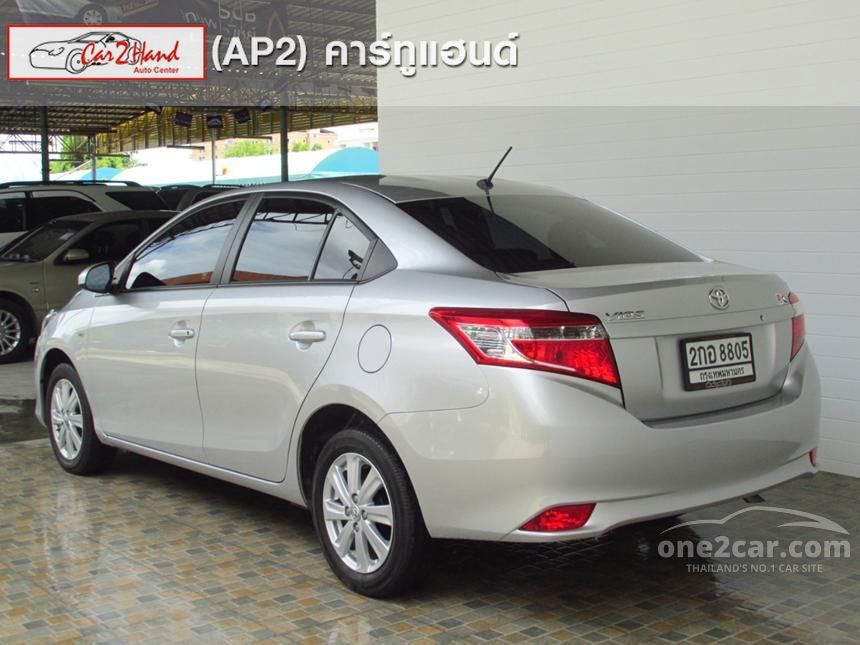 2014 Toyota Vios E Sedan