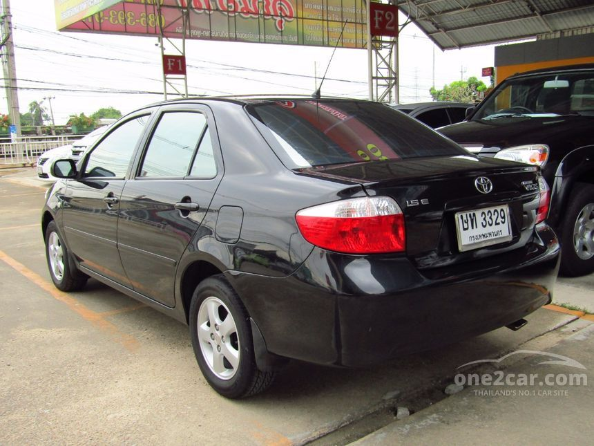 2004 Toyota Vios E Sedan