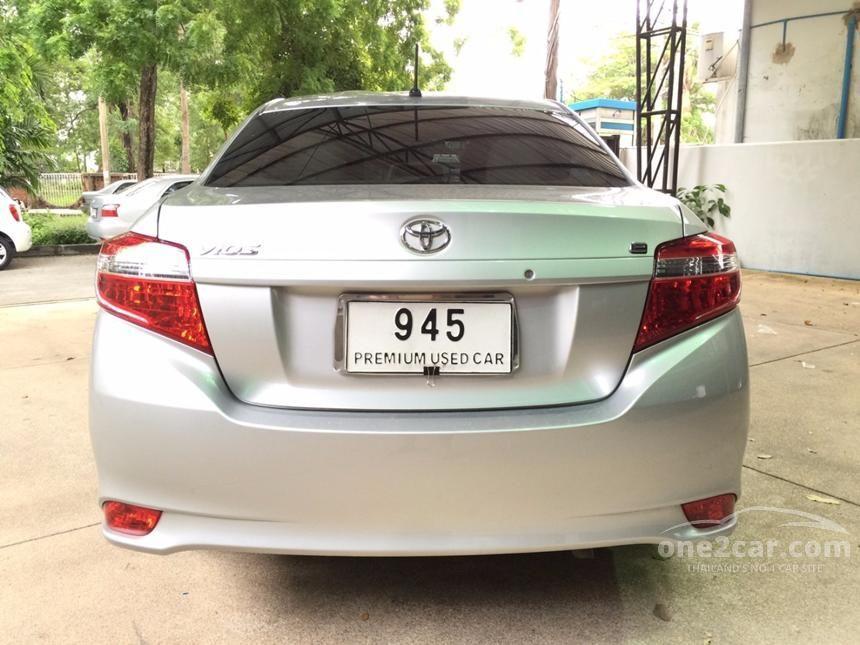 2013 Toyota VIOS E Sedan