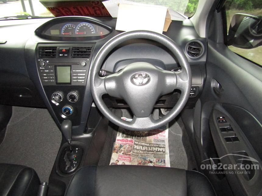 2008 Toyota Vios E Sedan