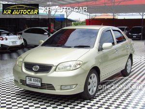 2003 Toyota Vios 1.5 (ปี 02-07) S Sedan AT
