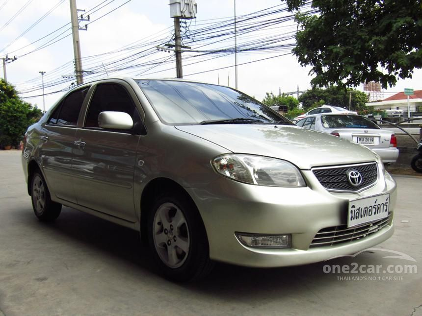 2004 Toyota Vios S Sedan