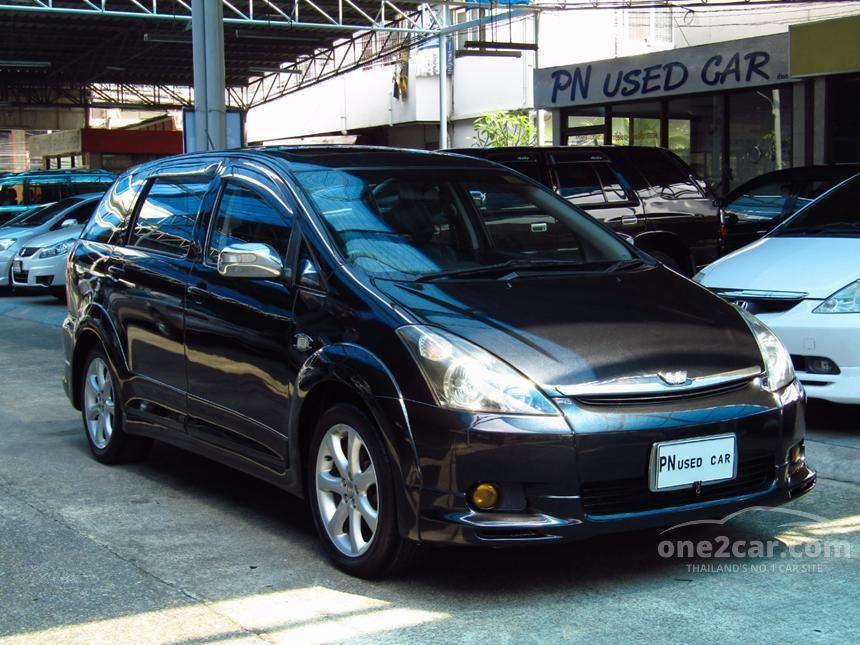 2006 Toyota WISH Q Limited Wagon