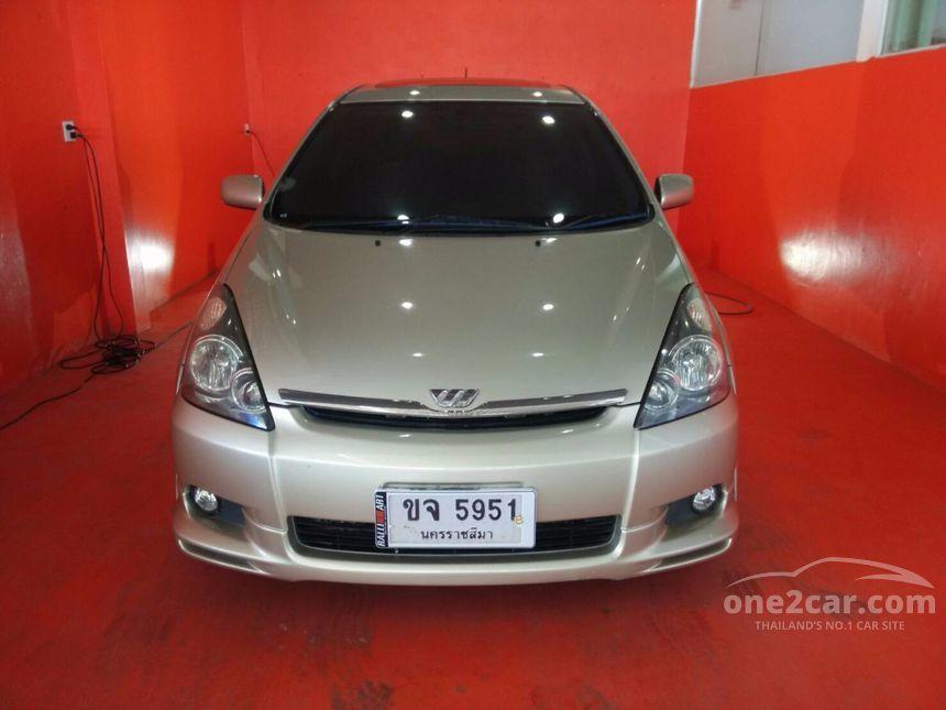 2005 Toyota WISH Q Limited Wagon