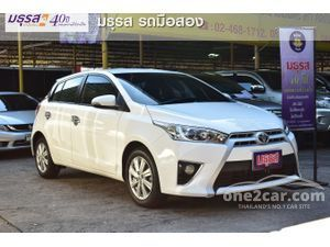2014 Toyota Yaris 1.2 (ปี 13-17) G Hatchback AT