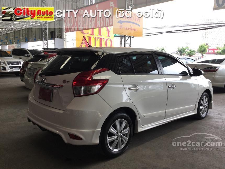 2014 Toyota Yaris G Hatchback