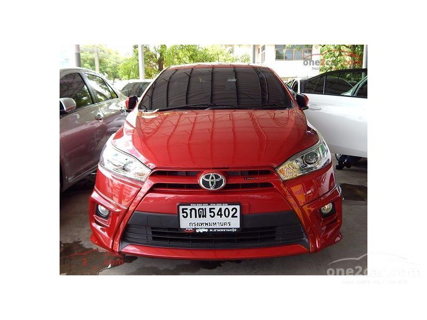 2015 Toyota Yaris TRD Hatchback