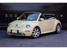 2003 Volkswagen New Beetle (ปี 00-12) GLS Convertible 2.0 AT Convertible