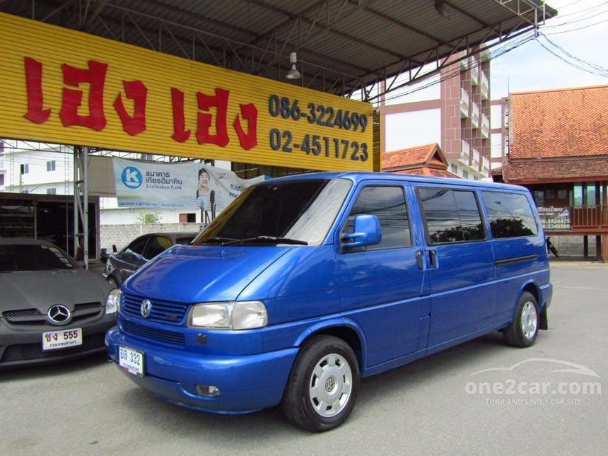 2002 Volkswagen Caravelle T4 Wagon